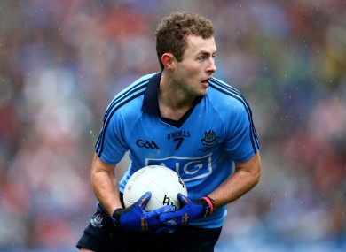 Jack McCaffrey will be shouting on the Dublin footballers tomorrow.