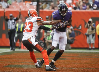 Mike Wallace is worth a look this week.