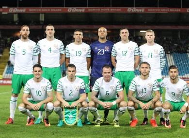 Ireland S Starting Xi Tonight