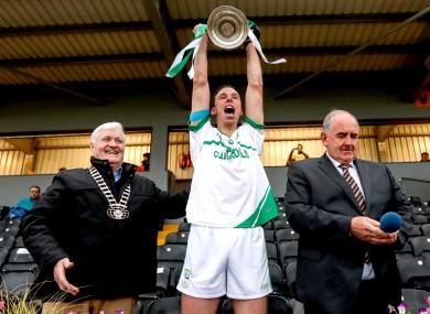 O'Loughlin Gaels captain Brian Hogan.