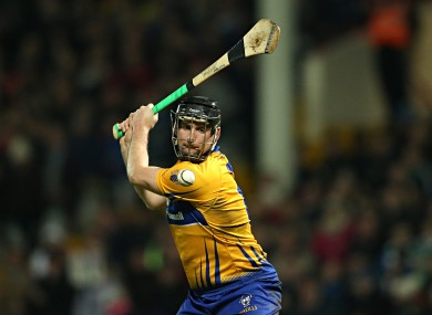 Clare senior star Colin Ryan bagged 1-7 today.