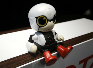 Toyota have said the robot is closer to a talking toy than artificial intelligence.
