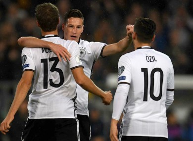 Germany continue to impress by easing to victory against ...