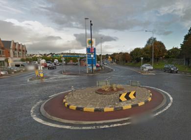 Gort Road roundabout. File photo.