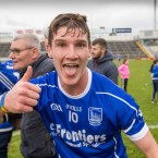 Rory Dwan celebrates Thurles Sarsfields' victory.<span class=