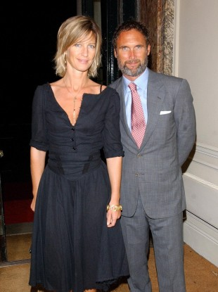 AA Gill and Nicola Formby in 2004