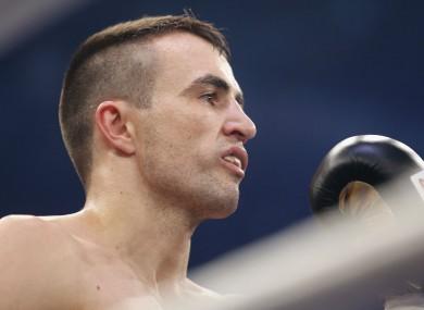 German boxer Eduard Gutknecht