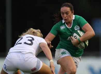 Nicole Fowley is looking forward to Ireland's second test tomorrow.