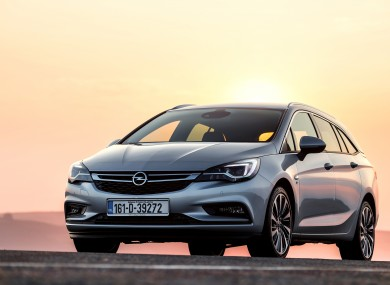 Review Don T Judge The Opel Astra Sports Tourer By Its Cover