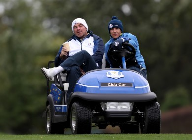 Bjorn: played in three Ryder Cups and was vice-captain in four.
