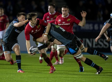 Munster survived a close scare against Glasgow Warriors.