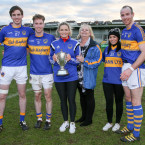 A special family day for Maghery's James, Jack and David Lavery.<span class=