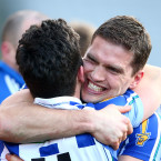 Conal Keaney becomes a champion in Croke Park with Ballyboden.<span class=
