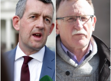 Quinlivan (L) and Ellis (R) are said to have received death threats in recent weeks