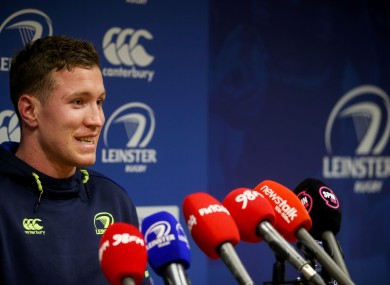 O'Loughlin speaking to the media ahead of the New Year's Eve clash with Ulster.