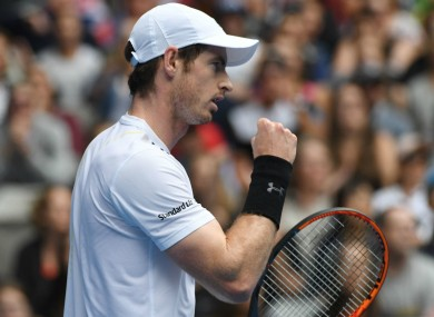 World number one Andy Murray