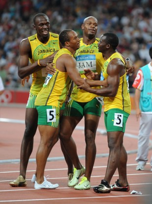 Stripped: Bolt, Frater, Powell and Carter.
