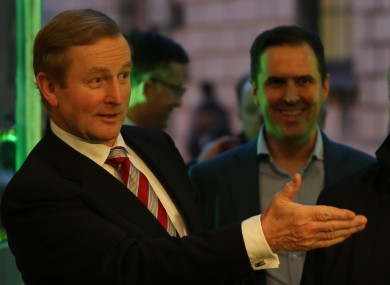Taoiseach Enda Kenny TD and Martin Shanahan, CEO of IDA Ireland