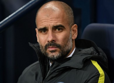 Pep Guardiola has not been included in Uefa's list of football's top 10 coaches.