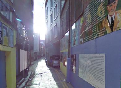 Bedford Lane in Temple Bar.