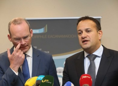Simon Coveney and Leo Varadkar are among the frontrunners to succeed Enda Kenny.