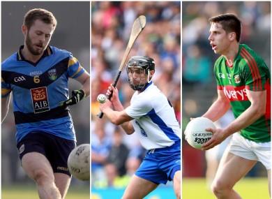 UCD's McCaffrey, Waterford's Mahony and Westport's Keegan all have big showdowns this week.