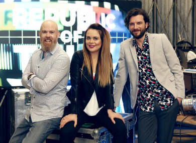 Edwin Sammon, Joanne McNally and Kevin McGahern