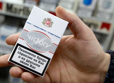 Almost 45 million black market cigarettes were seized last year.
