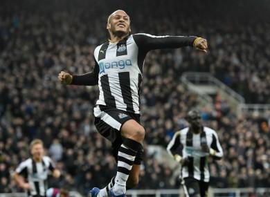 Newcastle United's Yoan Gouffran