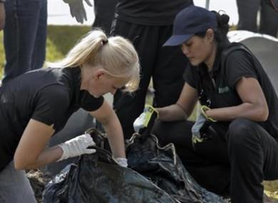 Dr Erin Kimmerle (left)