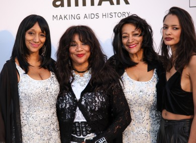 Joni Sledge (second from left) passed away at her home on Friday.