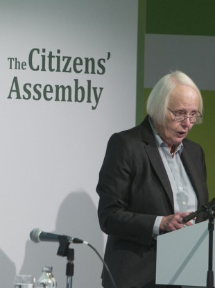 Justice Mary Laffoy is the chair of the assembly.