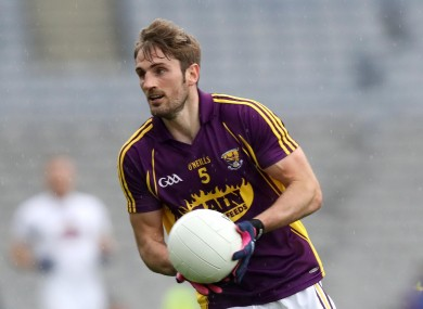 Wexford footballer Brian Malone is the joint manager of the St Peter's side.