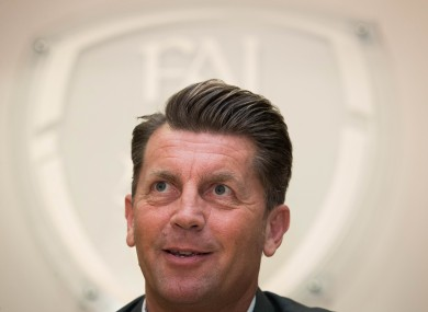 Colin Bell was named manager in February.