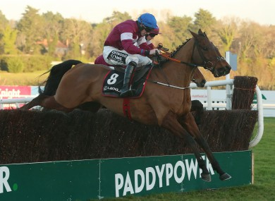 Jack Kennedy rides Outlander to victory in the Lexus Chase.