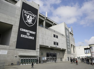 The Oakland Coliseum is widely regarded as the worst stadium in the NFL.