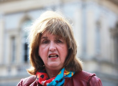 TD and former Labour leader Joan Burton.