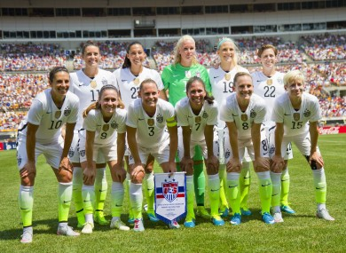 e93f65c2c97 Will Ireland follow suit  No strike action as US women s soccer team ...