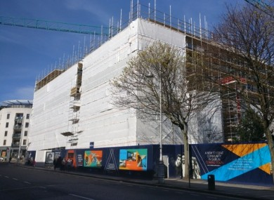 A student accommodation development on Gardiner Street.