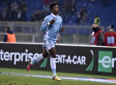 Keita Balde scored a brace for Lazio today.