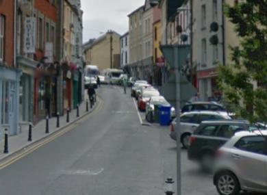 Market Street in Sligo Town.