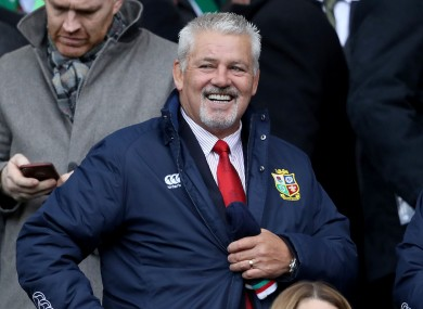 warren gatland british lions