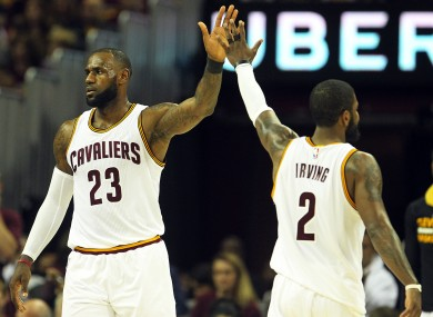 Order restored as Irving and James double up to beat Celtics · The42 252b0eba8