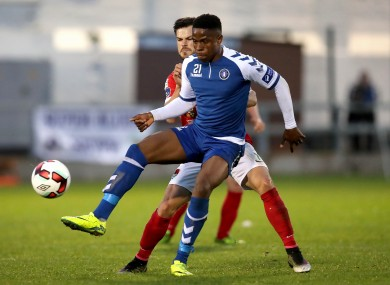 Limerick's Chiedozie Ogbene in action (file pic).