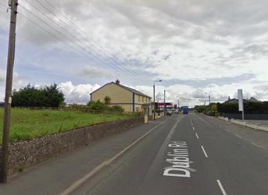 The Dublin Road in Roscrea.