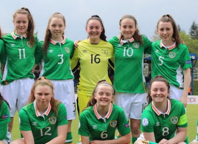 Ireland had the youngest team in the tournament.