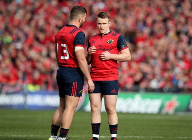 Jaco Taute and Rory Scannell have been crucial to Munster's excellent form this season.