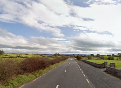 The R314 road near Ballina