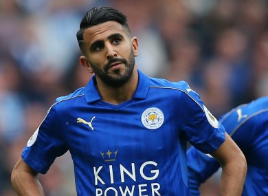 5f9df19c5 Mahrez will not be seen in a Leicester jersey next season if he has his way