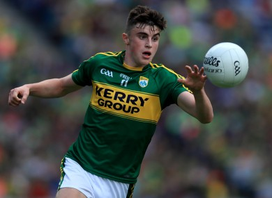 O'Shea: Kenmare talent captained Kerry's minors to the All-Ireland in 2016.